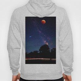 Blood Moon & Galaxy (Color) Hoody