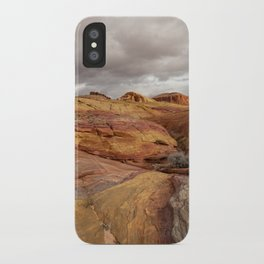 Canyon Overlook - Valley_of_Fire_State_Park, Nevada iPhone Case