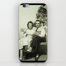 Merry Christmas from us to you, from past to present iPhone & iPod Skin