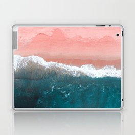 Turquoise Sea Pastel Beach II Laptop & iPad Skin