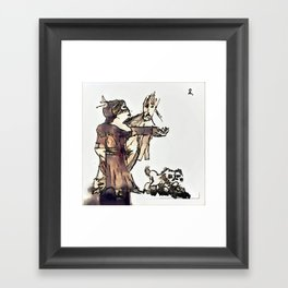 Los Caprichos ~ 2 ~ They Say Yes Framed Art Print