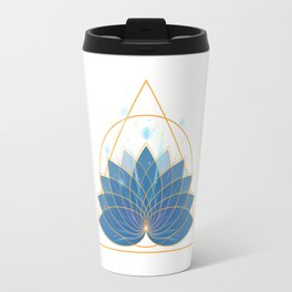 Triangle Lotus Travel Mug