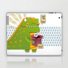 Godzilla get´s hungry!!! Laptop & iPad Skin