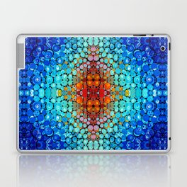 Inner Vision - Colorful Spiritual Abstract Art By Sharon Cummings Laptop & iPad Skin