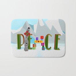 Penquin Chicks: Adding Last Piece to Peace Bath Mat