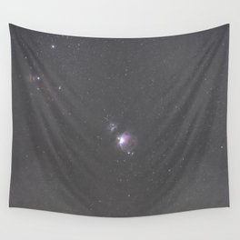 Orion Running Man flame and Horsehead Nebula's Wall Tapestry