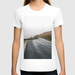 Misty Lonely Road T-shirt