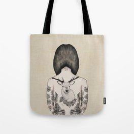 something flowery  Tote Bag