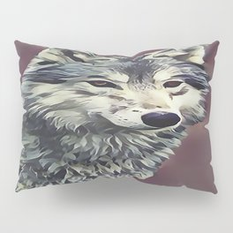 The Tundra Wolf Pillow Sham