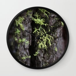 Mosslings (landscape) Wall Clock