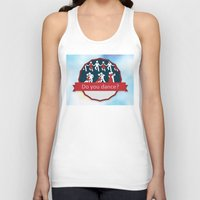 dancing Tank Tops featuring Dancing by Pavlo Tereshin