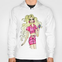 barbie Hoodies featuring Barbie. by The Brian Diaries
