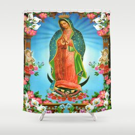 guadalupe Shower Curtain