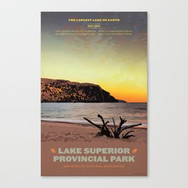 Lake Superior Provincial Park Canvas Print