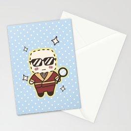 Kawaii Invisible Man Stationery Cards