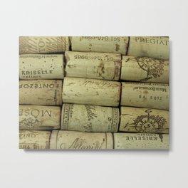 Corks, Horizontal Metal Print