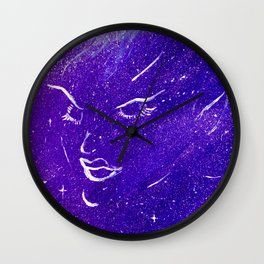 Space Elf Wall Clock
