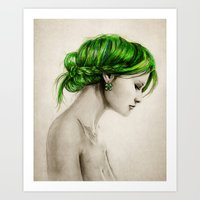 clover Art Prints featuring Clover by Isaiah K. Stephens