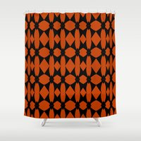 asia Shower Curtains featuring Asia  by Robleedesigns