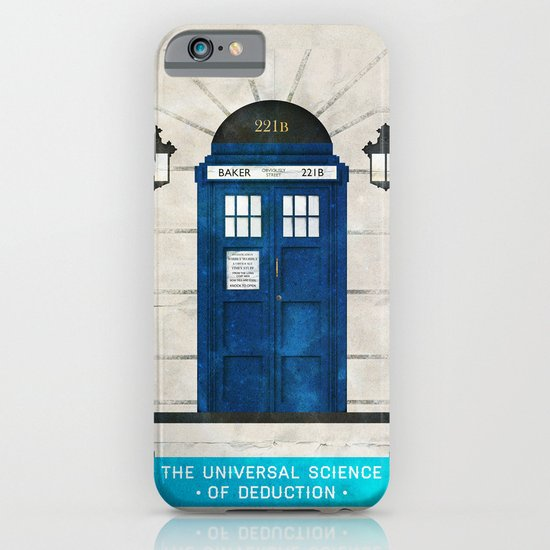 Doctor Who & Sherlock iPhone & iPod Case