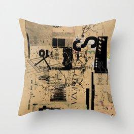 misprint 42 Throw Pillow