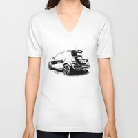 spice V-neck T-shirts featuring Spice Mini by zero2sixty