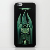 fullmetal alchemist iPhone & iPod Skins featuring The Alchemist by Nathan Spoor