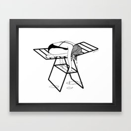 Dry Your Tears Framed Art Print