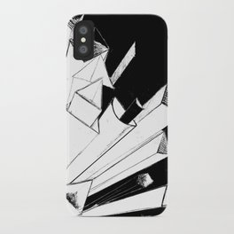 Shooting Shapes iPhone Case