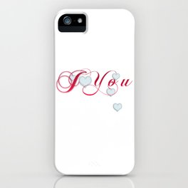 I Heart You iPhone Case