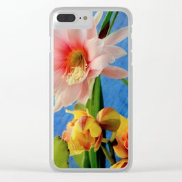 Spring Fling Clear iPhone Case