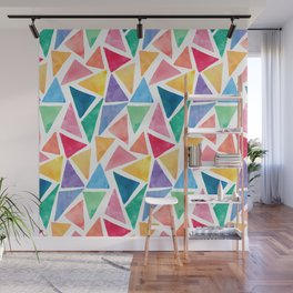 Watercolor Pattern Wall Mural