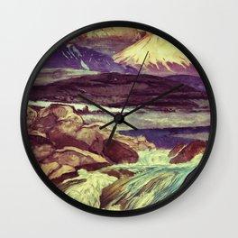 The Rising Fall Wall Clock