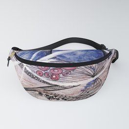 Space Planet Star Abstraction Fanny Pack