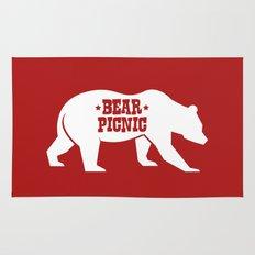 Bear Silhouette  Rug