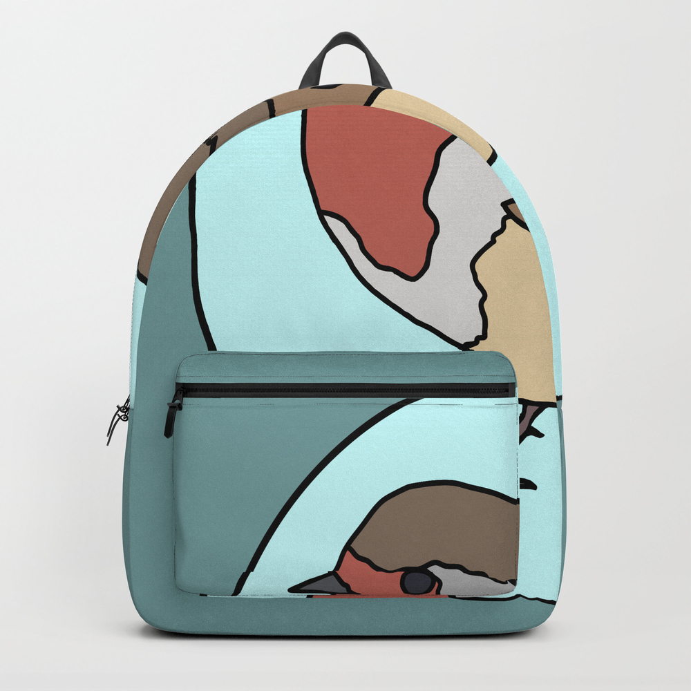 Robin - Robin Redbreast Backpack by Mothpathtags (BKP8909815) photo