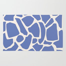 Blue Pieces Rug