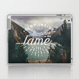 Adventures Are Lame Laptop & iPad Skin