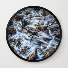 Color Slow Motion Wall Clock