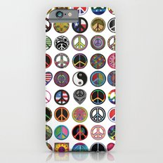 PEACE PATCH COLLECTION (white) iPhone 6s Slim Case