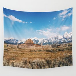 The Grand Tetons Wall Tapestry