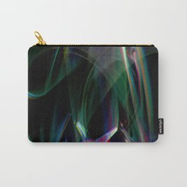aurora borealis lightpainting Carry-All Pouch
