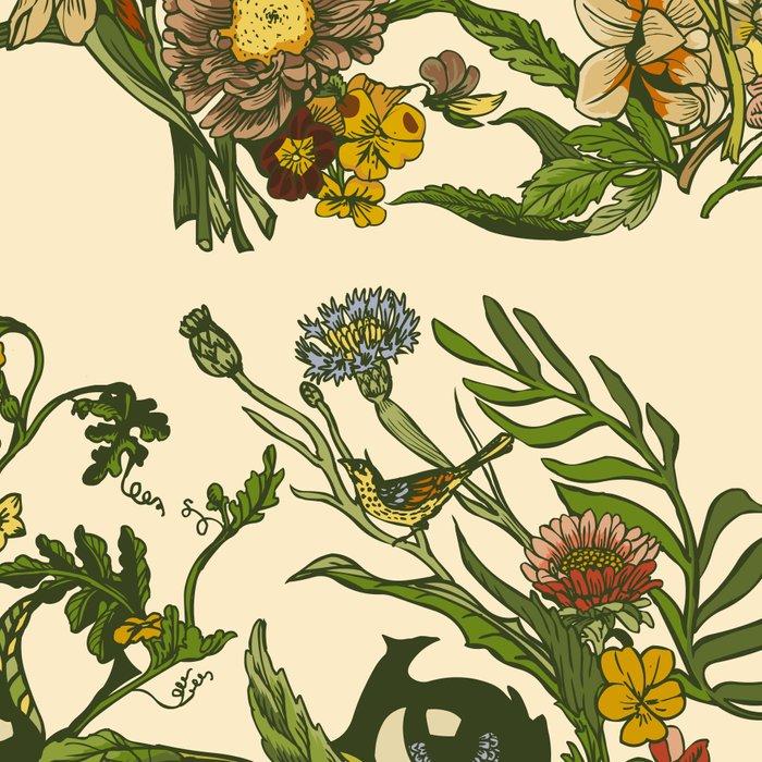 Botanical Pug Leggings