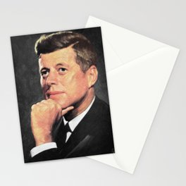 John F Kennedy Stationery Cards