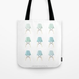 Mint Chairs Tote Bag
