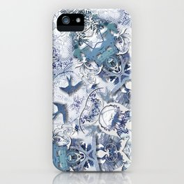 Blue Willow iPhone Case