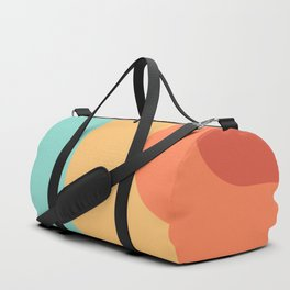 Vintage pastel pattern Duffle Bag