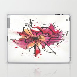 Pink and yellow Flower Explosion  Laptop & iPad Skin