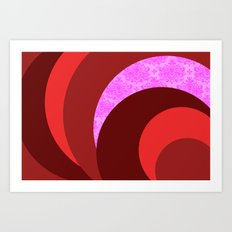 The Pink One Art Print