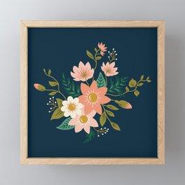 Spring flowers Framed Mini Art Print